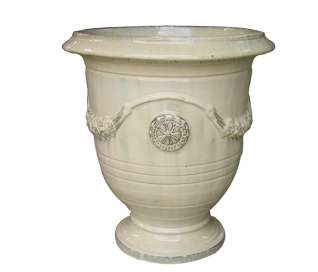 Glazed Anduze Planter Urn