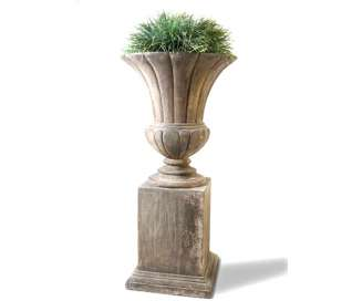Botoni Urn and Pedestal