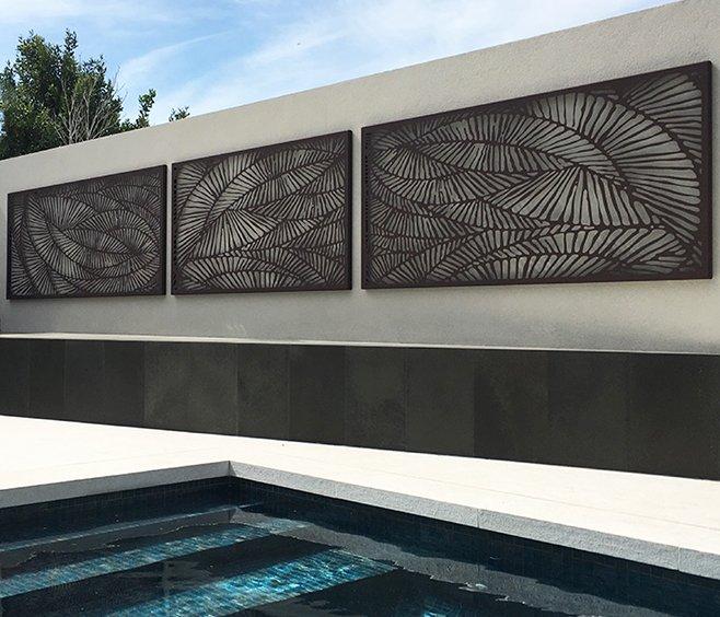 Ferlie outdoor screen ferlie outdoor screen forma circle wall art