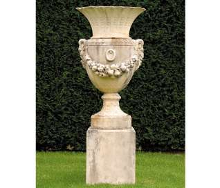 Parisian Urn and Pedestal | Large