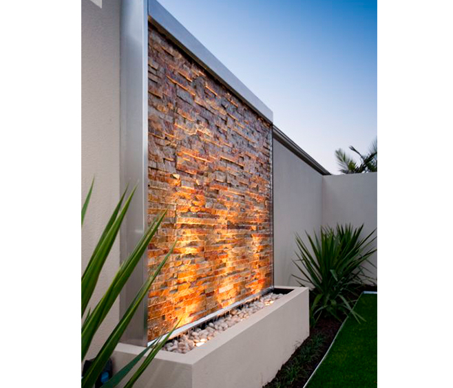 How To Build A Garden Wall Water Feature