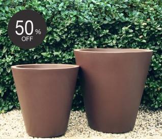 Serralunga Newpot Planter | CORTEN