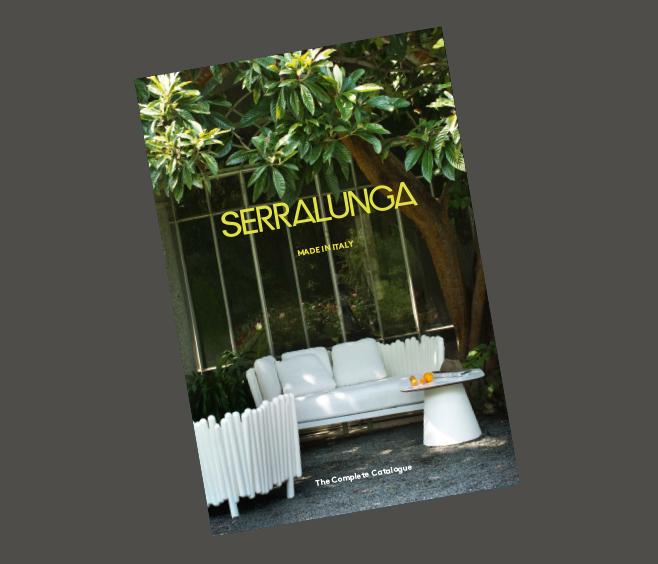 Serralunga living different catalogue for Serralunga furniture