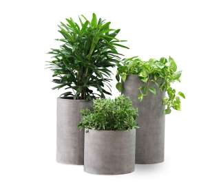 Litestone Eco Cylinder Planter