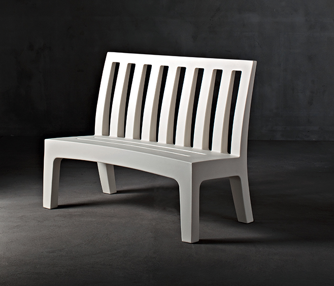Serralunga Romeo Outdoor Bench Seat Wg Outdoor Life Perth