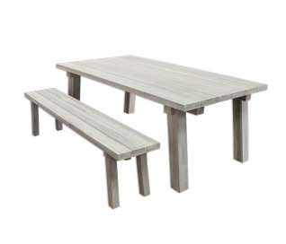 Beam Teak Outdoor Table