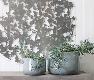 Glazed Dune Planter