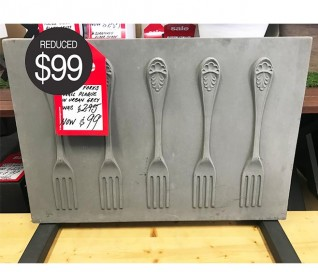 Pietro Forks Wall Plaque