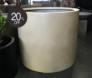 Cali Cylinder Planter - Sand