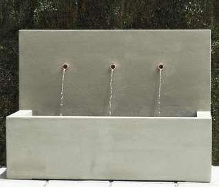 Pietro Trinity 3 Spout Fountain